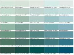 Drizzle Paint Color Sherwin Williams Green Chart Colour Family Room Colors