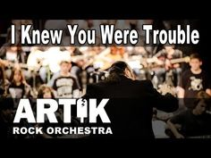 The BEST cover of Taylor Swift - I Knew You Were Trouble Cover By Artik Rock Orchestra