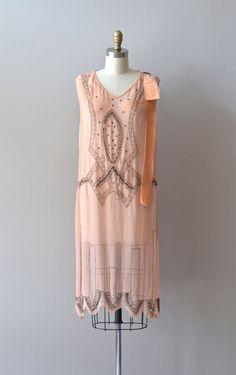 silk 1920s dress / vintage 20s dress / Années Folles by DearGolden, $325.00
