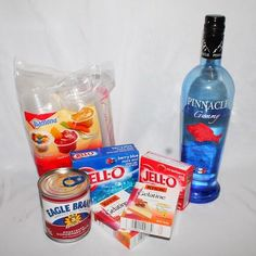 Red, White, & Blue Jell-O Shots – The Salt Water Seeker