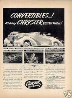 Chrysler Convertible (1937)