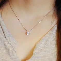 Dainty black zircon necklace sterling silver gold plated simple 670 exquisite rhinestone pendant necklace for women aloadofball Images