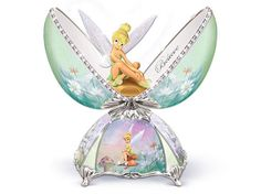 Tinker Bell Egg Porcelain Music Box
