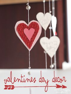 We Lived Happily Ever After: Valentine's Day Window Garlands