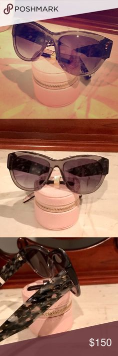 Gift Idea! NWT Dior Sunglasses!  NWT Authentic Christian Dior Flanelle Sunglasses purchased at Saks. These are still sold online elsewhere for $225. They did not come with a case, but I make sure everything is very securely packed and arrives perfect!   *Open to REASONABLE offers (reasonable is not half of asking price) please remember Posh takes 20%* Bundle and save on shipping! Christian Dior Accessories Sunglasses