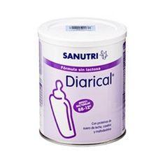 Leche Sin Lactosa Sanutri Diarical, formula ideal para casos de malabsorción e intolerancia a lactosa que cursan en procesos diarreicos.