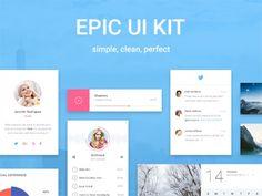 Download Epic UI: free exclusive sample pack PSD UI element - http://www.vectorarea.com/download-epic-ui-free-exclusive-sample-pack-psd-ui-element