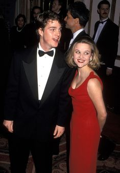 Chris O'Donnell and Reese Witherspoon during American Museum of the Moving Image Tribute to Al Pacino at Waldorf Astoria Hotel in New York City, New York, United States.Chris O'Donnell and Reese Witherspoon Hollywood Couples, Celebrity Couples, Celebrity Stars, Hollywood Celebrities, Reese Witherspoon Young, 90s Costume, Zombie Costumes, Halloween Costumes, 90s Tv Shows