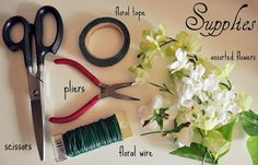 Frock Stock: DIY: Floral Headbands