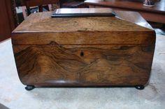 Rosewood Tea Caddy c. 1830