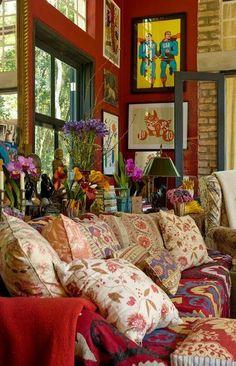#bohemian #decoração                                                                                                                                                                                 Mais