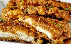 Double Crunch Honey Garlic Chicken Breasts – almost 100,000 hits on the website for this fantastic recipe in the last month alone.
