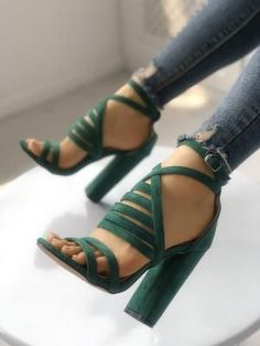 7595ca801 Shop Strappy Open Toe Stiletto Sandals – Discover sexy women fashion at  Boutiquefeel. Girl Meets Stripes