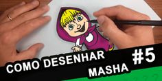 Como-Desenhar-a-Masha-eo-Urso-Masha-And-the-bear-colorido