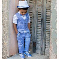 Βαπτιστικό Κοστούμι B16 Stova Bambini SS2019 Perfect Day, Travel Themes, Diy Art, Panama Hat, Hipster, Hats, Style, Fashion, Swag