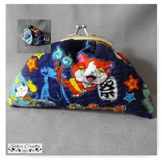 #Carteira #craft #wallet #artesanato #acessories #anime #manga #yokaiwatch #geek #cute