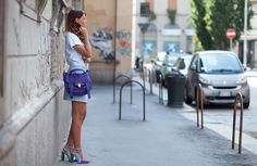 Veronica Ferraro in her Melis Yildiz ixiv Vilma pumps