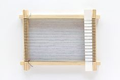 Click through to learn how to start a weaving project! Weaving Loom For Kids, Loom Weaving, Diy Clothes Accessories, Types Of Weaving, Bind Off, Weaving Projects, Threading, Crafts To Do, Twine