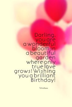 Cute and Romantic Birthday Wishes for boyfriend and girlfriend Happy Birthday Love - Romantic Birthday Wishes Birthday Messages For Lover, Happy Birthday Quotes For Her, Birthday Quotes For Girlfriend, Birthday Wishes For Lover, Romantic Birthday Wishes, Birthday Wish For Husband, Birthday Quotes For Him, Birthday Wishes Quotes, Happy Birthday Fun