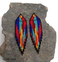 Tribal Areas Tribal Areas can refer to: Diy Earrings Designs, Beaded Earrings Patterns, Peyote Patterns, Beading Patterns, Indian Earrings, Tribal Earrings, Indian Jewelry, Dangle Earrings, Native American Earrings
