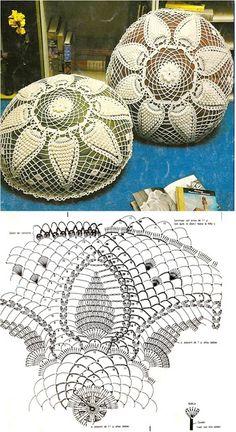 Ideas para el hogar: Cojines con esquema en crochet