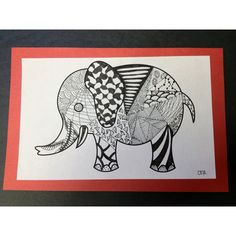 Zentangles ...doodling and relaxing for my kids in my classroom! Tangle Doodle, Tangle Art, Doodles Zentangles, Zen Doodle, Doodle Art, Drawing Lessons For Kids, Drawing Ideas, Art Classroom, Classroom Ideas