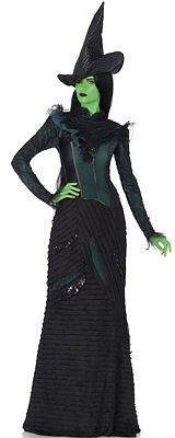 Brand New Theatrical Wicked Witch Elphaba Deluxe Outfit Adult Costume