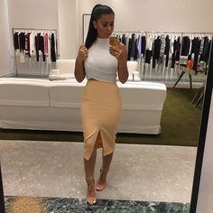 Date night outfit Dress Skirt, Midi Skirt, Dress Up, All About Fashion, Passion For Fashion, Fashion Moda, Women's Fashion, Fashion Killa, Body