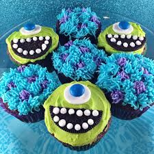 monsters inc cupcakes - Google Search