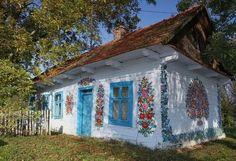 Самобытная расписная деревня Залипье