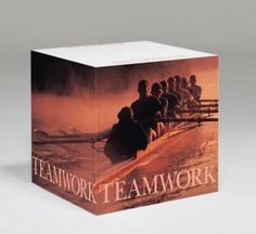 What a great way to instill a feeling of teamwork than with this Teamwork note cube from Successories.com.  Get this and other items with your rebate from RebateBlast.