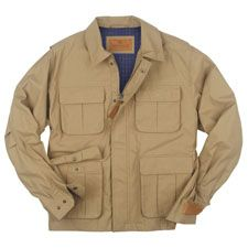 SCHNEE'S Expedition Jacket. 100% cotton, water repellent material. $289