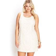 ✨plus size✨ creme chic body con New with tags. Size 2x Forever 21 Dresses Mini