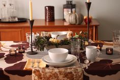 Thanksgiving Table No. 1~GOLDMINE JOURNAL