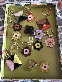 Orla Kiely Flower Petal Attachments & keyrings Flower Petals, Flowers, Orla Kiely, Orlando, Orlando Florida, Royal Icing Flowers, Flower, Florals, Floral