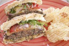 Macheesmo: Mushroom Burgers
