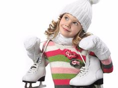 Photo Little girls Ice skate child Winter hat Sweater Ice Skating Party, Skate Party, Kids Winter Hats, Cute Little Girls, Figure Skating, Christmas Sweaters, Winter Outfits, Graphic Sweatshirt, Hoodies