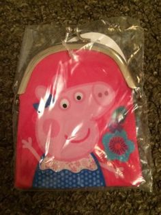 #Peppa pig #girls coin #purse childrens gift brand new ,  View more on the LINK: http://www.zeppy.io/product/gb/2/201791348690/