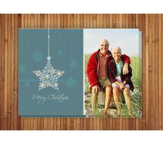 Holiday Photo Card - Merry Christmas