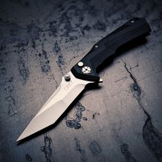 The CRKT Tighe Tac Two Tanto Folding Knife
