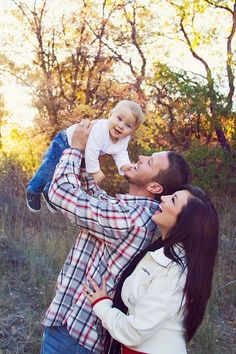 Family Photo Ideas In the Air
