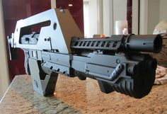 Nerf Aliens Pulse Rifle Build