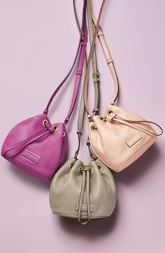 pranda bags - MARC by Marc Jacobs 'New Too Hot to Handle' Leather Bucket Bag ...