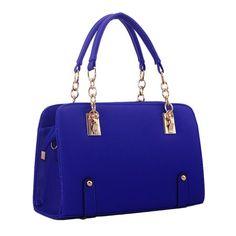 PU Leather Ladies Shoulder Messenger Handbag Handbags Autumn Messenger Bag Blue - Walmart.com