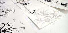 Monica Dengo - Calligraphy