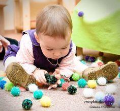Montessori Inspired activities for baby {Montessori Nature's Smile}