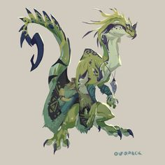 Mythical Creatures Art, Magical Creatures, Fantasy Creatures, Fantasy Character Design, Character Design Inspiration, Character Art, Creature Concept Art, Creature Design, Creature Drawings