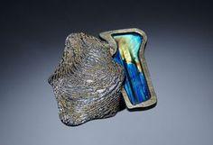 Harold O'Connor Ring: Untitled, 2014 750 gold, silver, spectrolite