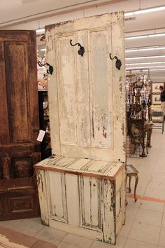 Old doors...........new piece of furniture