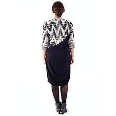 Buy Chesca Paisley Jacquard Dress, Black/Ivory Online at johnlewis.com
